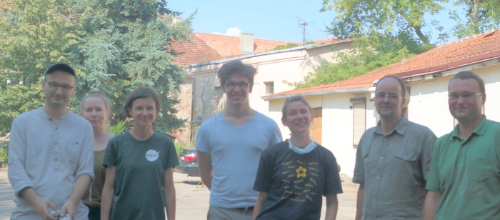 Volunteers Tackle Cobwebs and Dust at Vilna Ghetto Library
