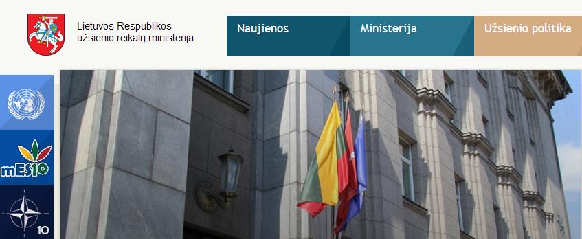 Lietuvoje lankysis Izraelio užsienio reikalų ministras