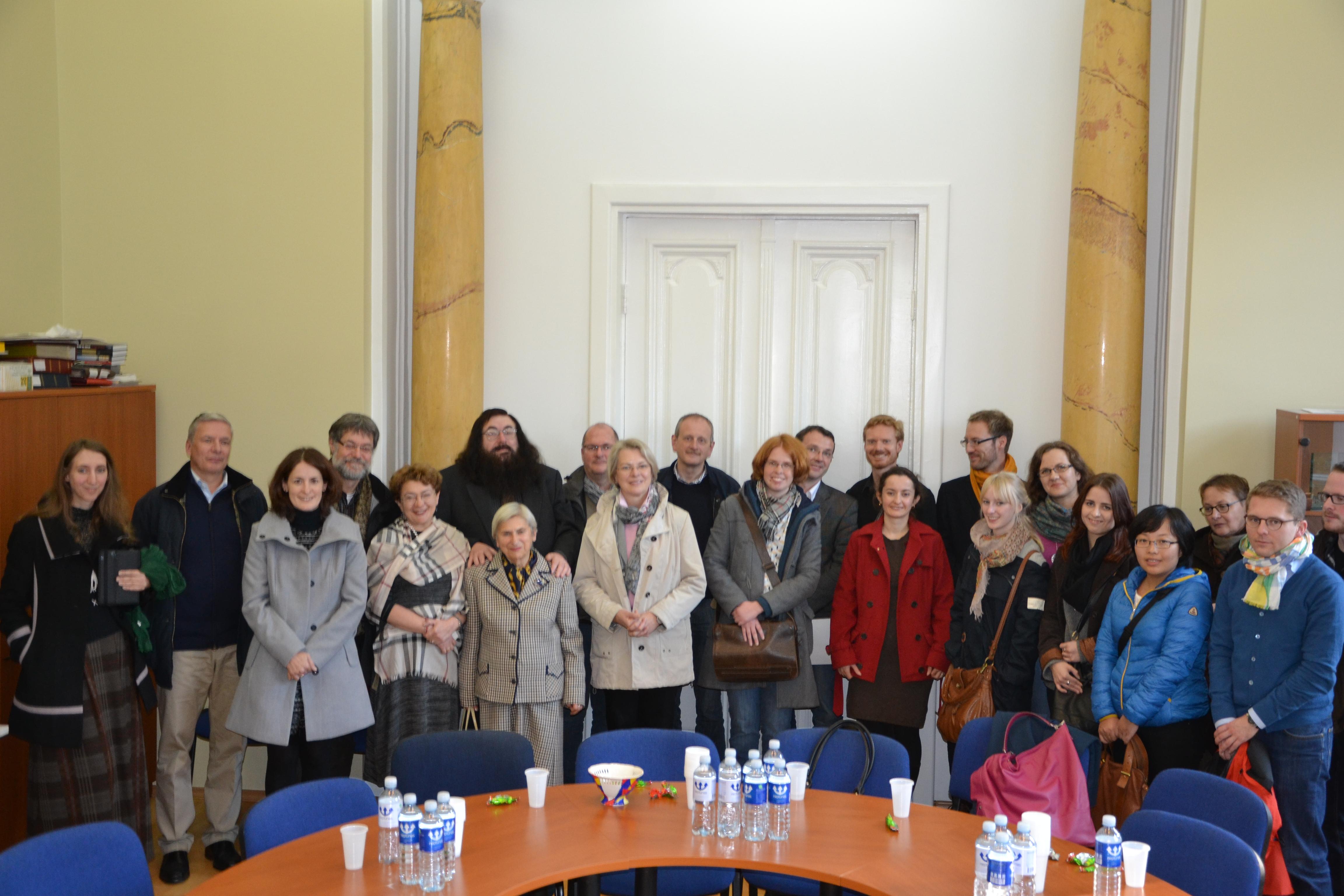 Bendruomenėje – svečiai iš Vokietijos