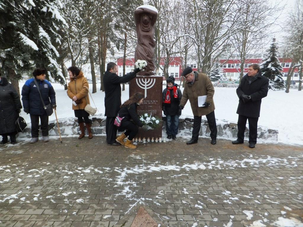 Tarptautinės Holokausto atminties dienos minėjimas Panevėžyje