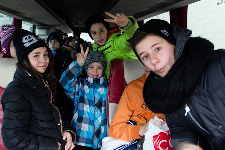 Lithuanian Jewish Community Winter Children's Camp at Šventoji, Lithuania