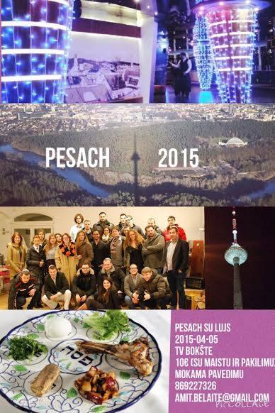 Kvietimas į Pessahą!