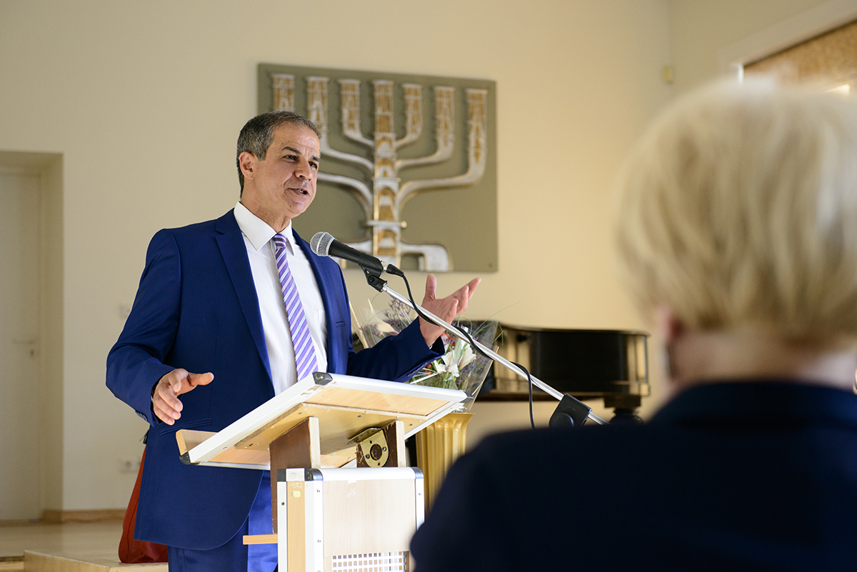 A Meeting with the Israeli Ambassador to Lithuania at the Lithuanian Jewish Community