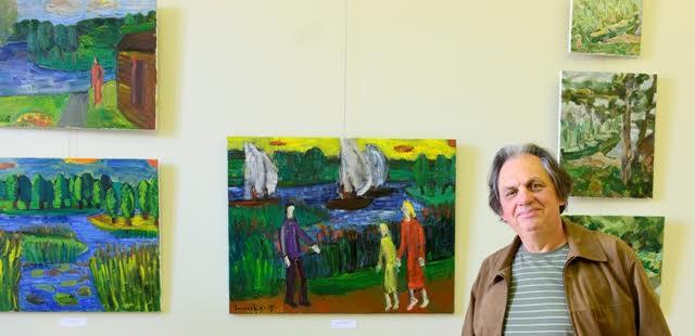 """Plenero """"Litvakų dailininkai. L'école de Paris laikotarpis"""" dalyvių paroda 2015"""