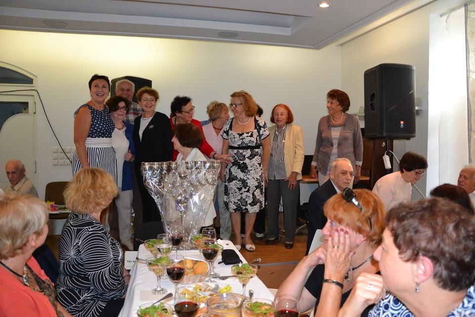 Iškilmingas priėmimas tarp Rosh Ha Shana ir Yom Kipur