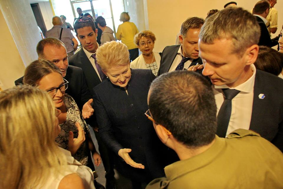 LŽB pirmininkė Faina Kukliansky apie Lietuvos Prezidentės Dalios Grybauskaitės vizitą į Izraelį