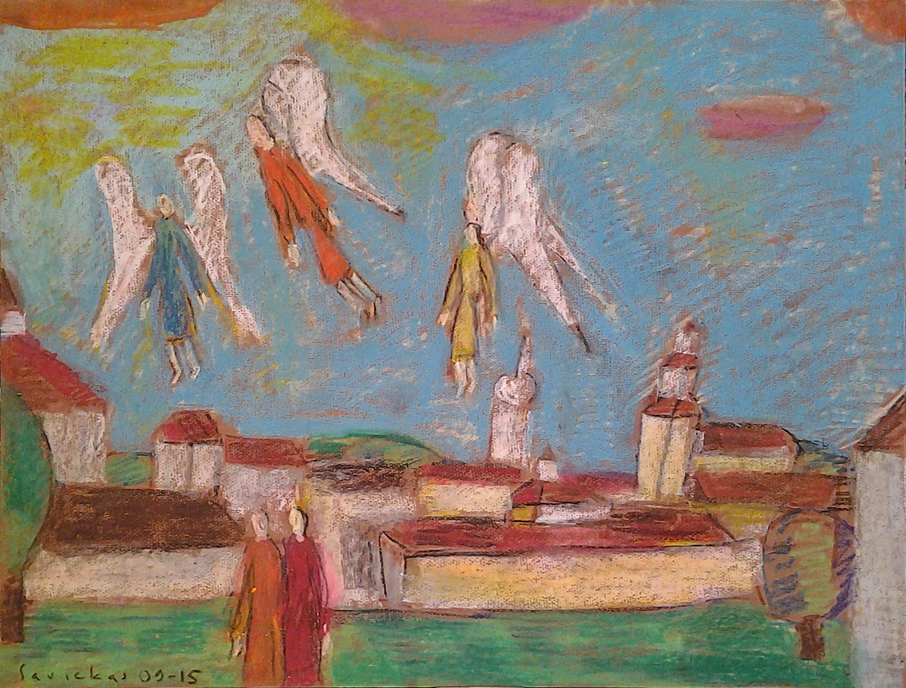 Raimondo Savicko  Pastelių paroda