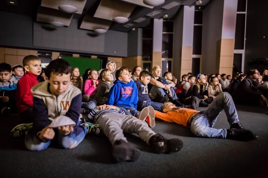 LŽB vaikai žiemos stovykloje A Mechaye