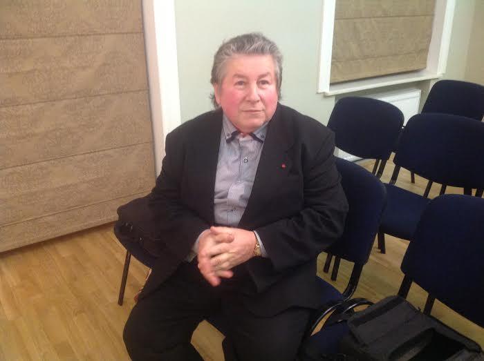 """Maestro Anatolijus Šenderovas LŽB ,,Likimų"""" vakare"""
