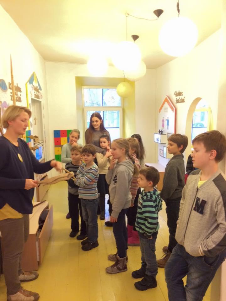 LŽB Ilan klubo vaikai Žaislų muziejuje