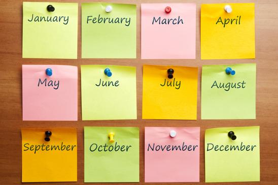 Nuolatinių LŽB programų savaitės grafikas