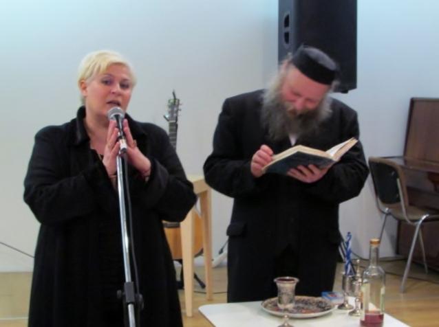 LŽB klubas Gešer susirinko į Šabo išlydėjimo ceremoniją