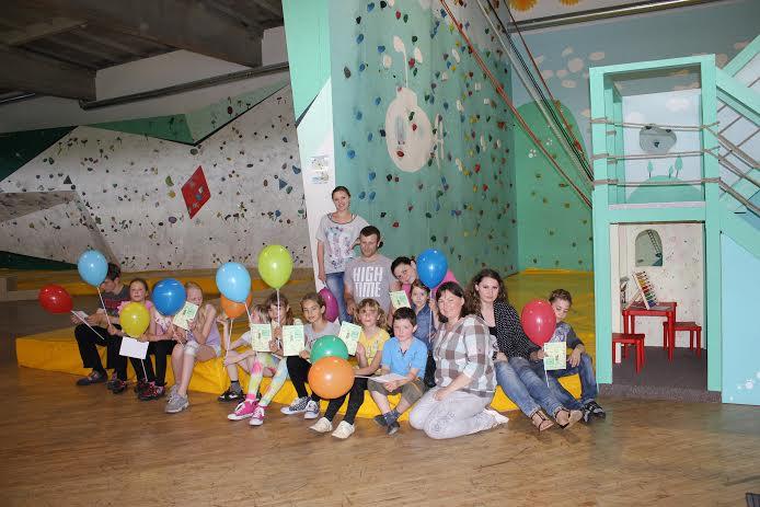 Kauno ŽB vaikai nuotaikingai užbaigė metų užsiėmimus