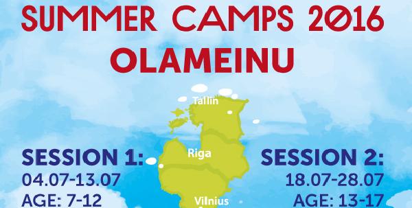 Vaikų vasaros stovyklų tvarkaraštis ir registracija 2016