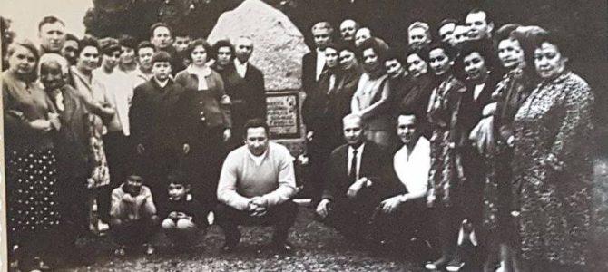 Holokausto aukų minėjimas Biržuose  rugpjūčio 28 d.