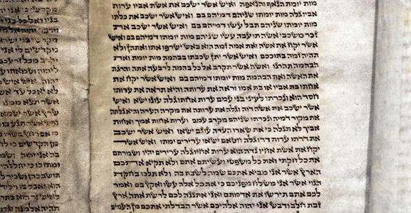 Į Vilnių sugrįžo 350 metų senumo, Gaono laikųTora