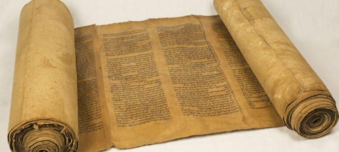 350 m. skaičiuojatis toros ritinys grįžta į Vilniaus choralinę sinagogą
