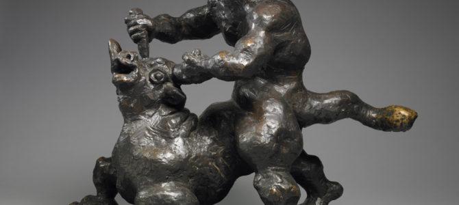 Skulptūros iš nacionalinio Žoržo Pompidu meno ir kultūros centro jau Lietuvoje