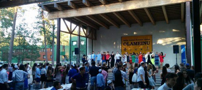 Šabatas tarptautinėje Olameinu žydų vaikų stovykloje Dubingiuose
