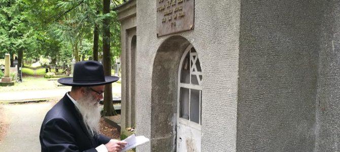 Rugpjūčio 15-16 Latvijoje ir Lietuvoje lankėsi rabinas Bentsiyonas Zilberis