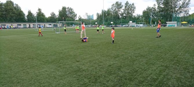 """Jaunieji """"Makabi"""" futbolininkai stovyklavo Druskininkuose"""