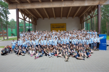 LŽB tarptautinė vaikų stovykla Olameinu  2016