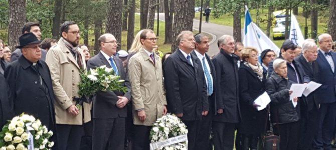 Paneriuose pagerbtos Lietuvos žydų genocido aukos