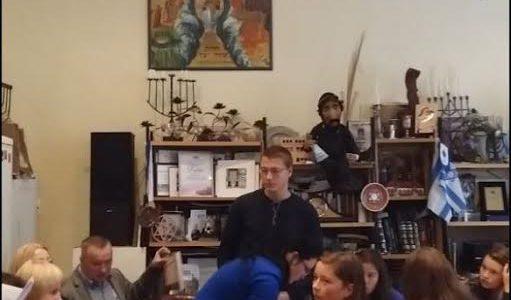 Panevėžyje moksleivių programa Lietuvos žydų genocido dienai