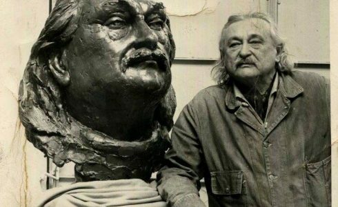 Žako Lipšico gyvenimas skulptūroje