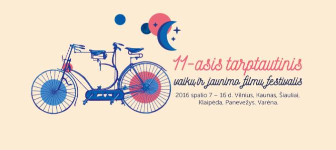 11-asis Tarptautinis vaikų ir jaunimo filmų festivalis kviečia mokyklas