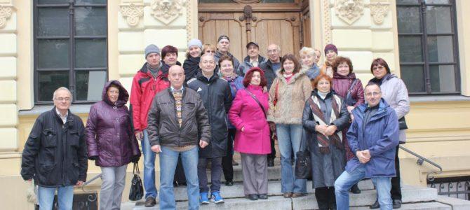 Kauno žydų bendruomenės nariai susipažįsta su žydiškąja Varšuvos ir Bialystoko istorija