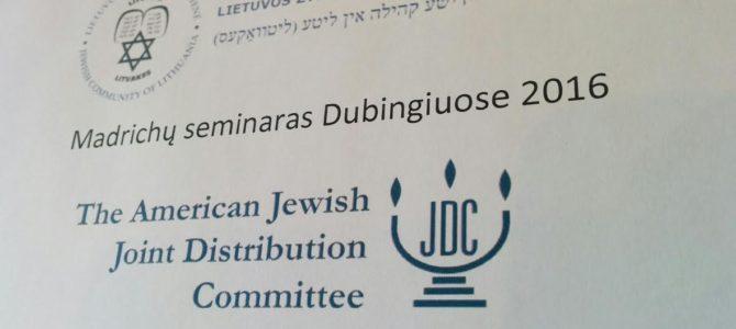 LŽB Vadovų (madrichų)  seminaras Dubingiuose