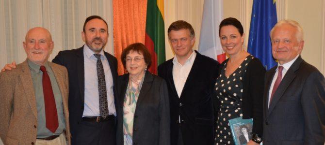 Paryžiuje pristatyta knyga apie Lietuvos visuomenės veikėją I. Veisaitę