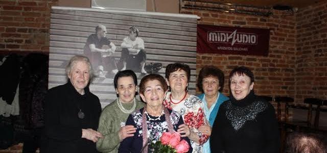Kauno žydų bendruomenė sveikina savo narę Basią Šragienę su gimtadieniu