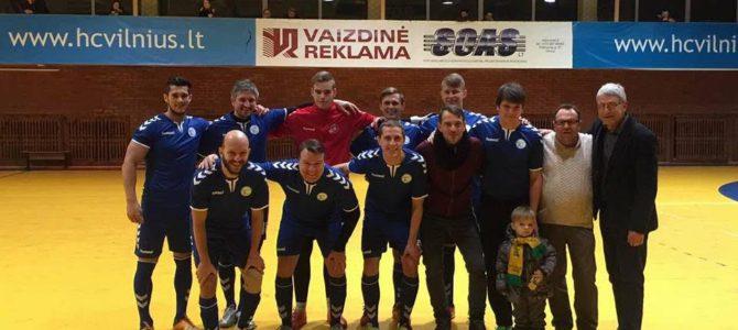 """LSK """"Makabi"""" futbolo komanda dalyvauja varžybose"""