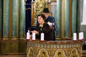 žvakes sinag