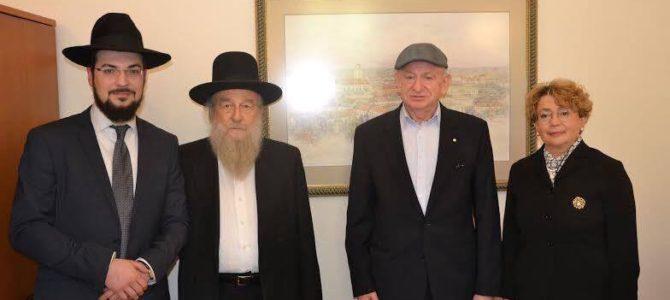 Užuojauta, mirus dvasiniam lyderiui rabinui Moše Šapiro