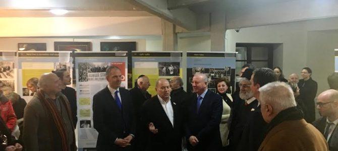 """Tbilisyje atidaryta paroda """"Lietuvos žydai už geležinės užtvaros"""""""