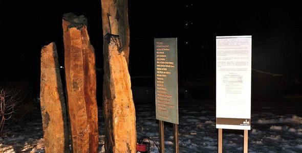 Vokietijos mieste Waldkirche atidengtas paminklas Lietuvoje nužudytoms Holokausto aukoms