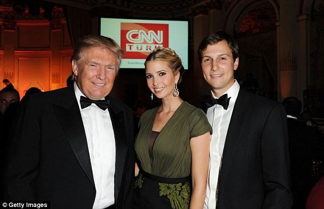 Kušneriai su Trumpu