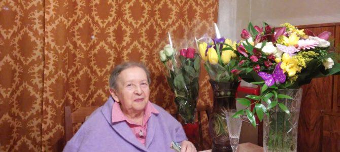 Sveikiname Feigą Tregerienę su jubiliejiniu 90-uoju gimtadieniu!