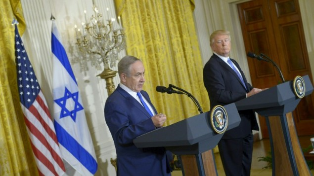 Trump and Netanjahu