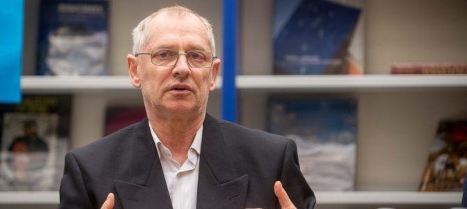 Arkadijus Vinokuras paskelbė apie savo kandidatūrą į VŽB pirmininkus