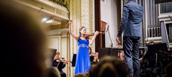 Tarptautinio Jaschos Heifetzo smuikininkų konkurso nugalėtoja – japonė Yurina Arai