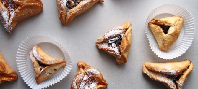Kviečiam vaikus atsiimti  šventinių Hamantašeno sausainių!