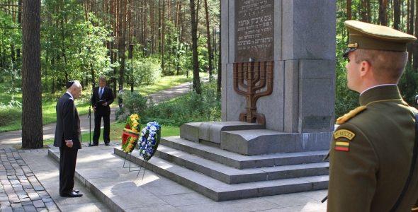Paneriuose nacių įkurta žudymo bazė buvo tris kartus didesnė nei dabartinis memorialas