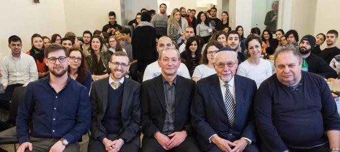 Izraelio studentai Kaune jaučiasi kaip namuose