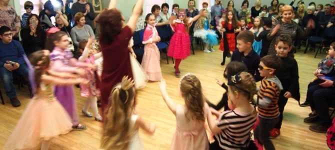 """LŽB vaikų klubai """"Ilan"""", """"Dubi"""" ir """"Dubi Mishpaha"""" linksmai šventė Purimą"""