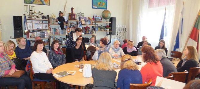 Seminaras apie žydų tautos tradicijas ir papročius