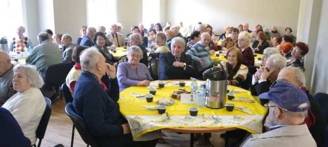 LŽB senjorai, Socialinių programų globotiniai šventė Pesachą